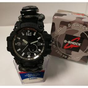 373378f047b9 Casio G Shock Reloj De Supervivencia Gris Camuflaje