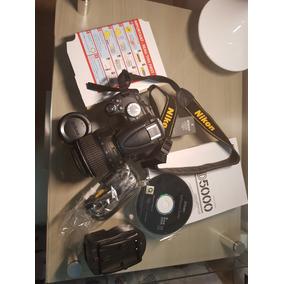 Camera Nikon D5000 Super Nova - Menos De 2000 Clicks