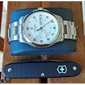 Maravilhoso Relógio Victorinox Swiss Army Com Canivete Lindo