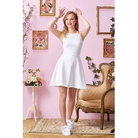 Ropa Mujer Vestido Casual Blanco P18 Of18