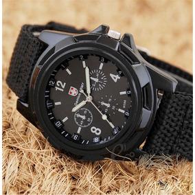 ec6e2a99e78 Relogio Masculino Gemyus Army Aviador - Relógios De Pulso no Mercado ...