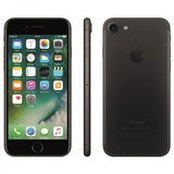 iPhone 7 Preto Matte Tela 4,7 4g 32 Gb Câm 12 Mp Novo Lacrad