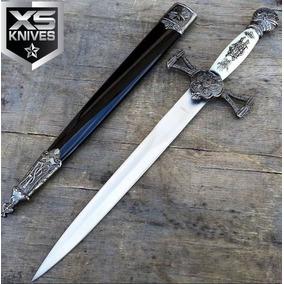 Espada Medieval Punhal Aco Inox Excelente Para Decorar