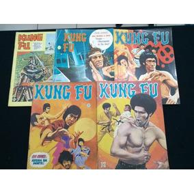 Lote Com 5 Gibis Kung Fu