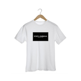 204f17f364 Camiseta Dolce Gabbana - Camisetas Manga Curta para Masculino no ...