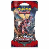 Sobre Cartas Tarjetas Pokemon Sun Y Moon Crimson Invations
