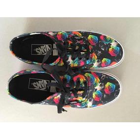 Zapatillas Vans Con Flores Mujer - Zapatillas en Mercado Libre Argentina 32f4a5380d8