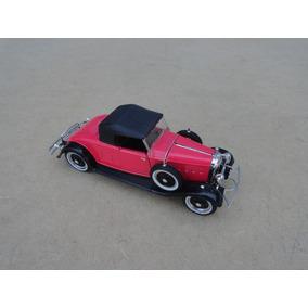 Miniatura Lincoln 1932 Roadster Vermelho Akko