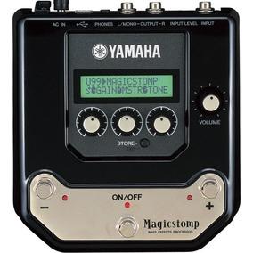 Pedaleira Contrabaixo Yamaha Ub99b Magic Stomp Frete Grátis