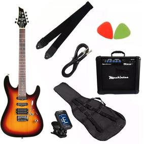 Kit Guitarra Tagima Memphis Mg-230 Regulada Promoção! Oferta