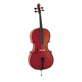 Violoncello 1/2 Stradella Mc601112 Pino Funda Arco Estudio