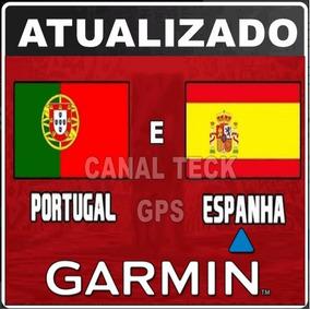 Atualização Mapa Garmin Portugal & Espanha 2019.20 Nova