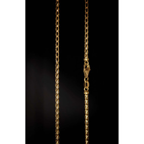 Linda E Exclusiva Corrente Italiana Em Ouro 18k 750 60 Cm