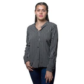 Camisa Dama Gris A Rayas Wanna slowly Bws-56 - Tienda Chaia 5a038f7c2f8