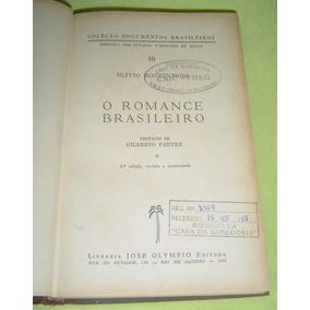 Livro O Romance Brasileiro - Olívio Montenegro