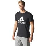 Camiseta Masculina adidas Tech Fit Logo Gola Redonda S23014 467b072a8b5d0