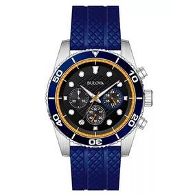 Reloj Bulova Cronografo Original Para Hombre 98a205 E-watch