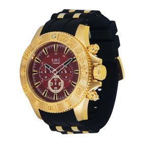 77dceb1a826 Relogio Ewc Dourado - Relógio Masculino no Mercado Livre Brasil