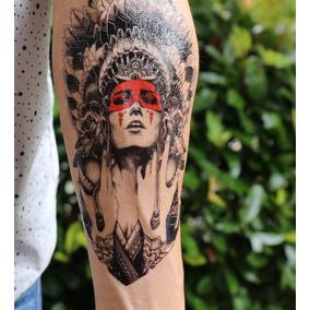 Tatuagem Temporária * Fake Tattoo - Índia * Ref:090