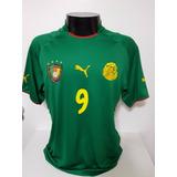 a21a23773c Camarões Samuel Eto O 10 - Camisas de Seleções de Futebol no Mercado ...