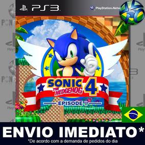 Sonic The Hedgehog 4 Episode I Ps3 - Envio Imediato Digital