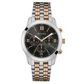 501f03e6e39 Relógio Bulova Masculino Classic Wb22382p Misto Rose Oferta