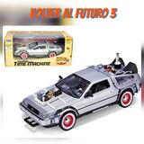 Auto Volver Al Futuro Delorean 3 Welly 1:24 Original