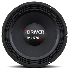 Alto Falante Woofer 7 Driver 12 Polegadas Ml 570 S 8 Ohms