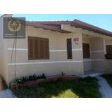 Casa Com 2 Dormitórios Com 90 M² - Salinas - Cidreira/rs - Ca0358