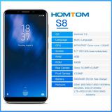 Homtom S8 4g 5.7p 64gb 4gb Ram - Pronta Entrega