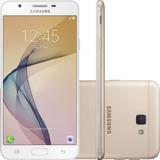 Smartphone Samsung Galaxy J7 Prime Duos Dourado 32gb +brinde