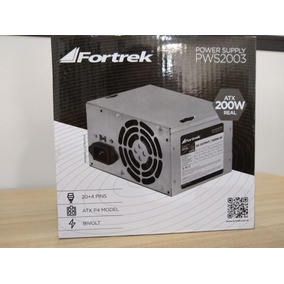 Fonte Para Computador Atx 450 W - 200 W