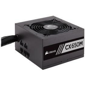 Fuente Corsair Cx650m 650w Semi Modular Cert. 80 + Tienda Of