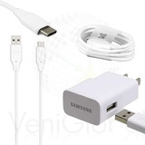 Cargador Samsung 2amp Cable Tipo C S8 S9 Lg G5 Hawei P9 Blu