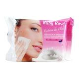 2 Lenço Demaquilante Removedor Maquiagem Ruby Rose Hb-200