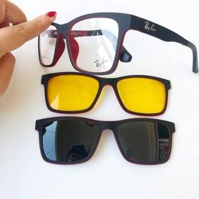 00aeedb03cede Armaçao Oculos Masculino Armacoes - Óculos Vermelho no Mercado Livre ...