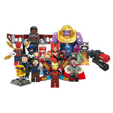 Set Ironman Guante Thanos Infinity War Compatible Bloques