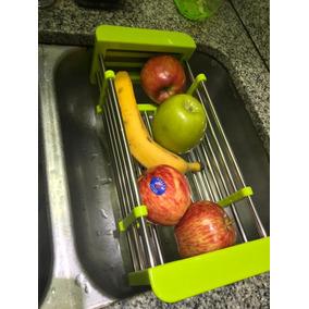 Secador Escurridor Extensible Vaso platos verdura Acero Inox ae9c71ffe5ed