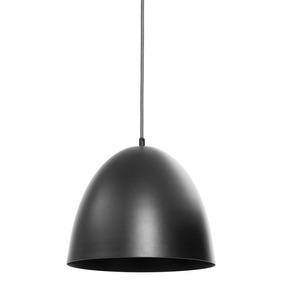 Lámpara De Techo Atlas Negra Con Cable Tejido