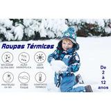 Meia Segunda Pele Térmica Bebê Proteção Frio Intenso Inverno b49af52917de6
