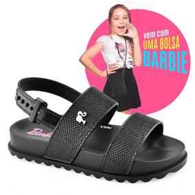 Sandália Barbie + Bolsa Magic 21632 Infantil Grendene