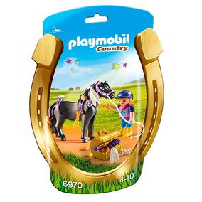 Mini Figuras Playmobil - Soft Bags Poneys - 6970 - Sunny