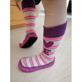 Calcetín Antiderrapante, Zapatos Zuela Para Interior Niños