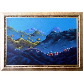Cuadro - Paisaje De Montañas - De Gonzalo Endara Crow