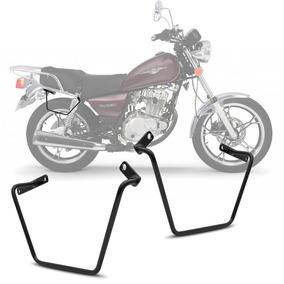 Afastador Alforge Moto Suzuki Intruder Suporte Bolsa Lateral