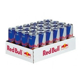 Energético Red Bull Caixa Com 24 Unidades De 250 Ml