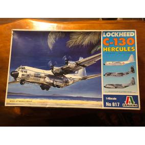Maqueta De Avion Lockheed C 130 Hercules Italeri Escala 1/48