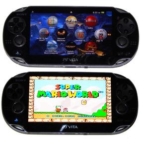 Ps Vita Desbloqueado + 32gb Original Sony + Jogos