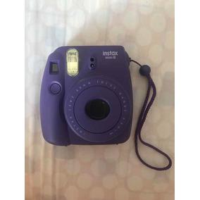 Câmera Instax Mini 8 Roxa Polaroid