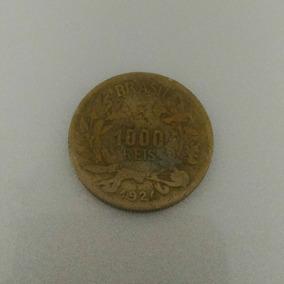 Moeda 1000 Reis Ano 1924